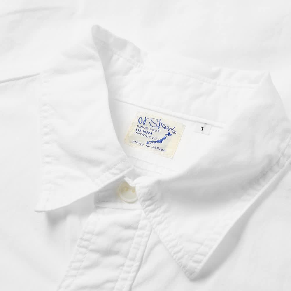 orSlow Work Shirt - White