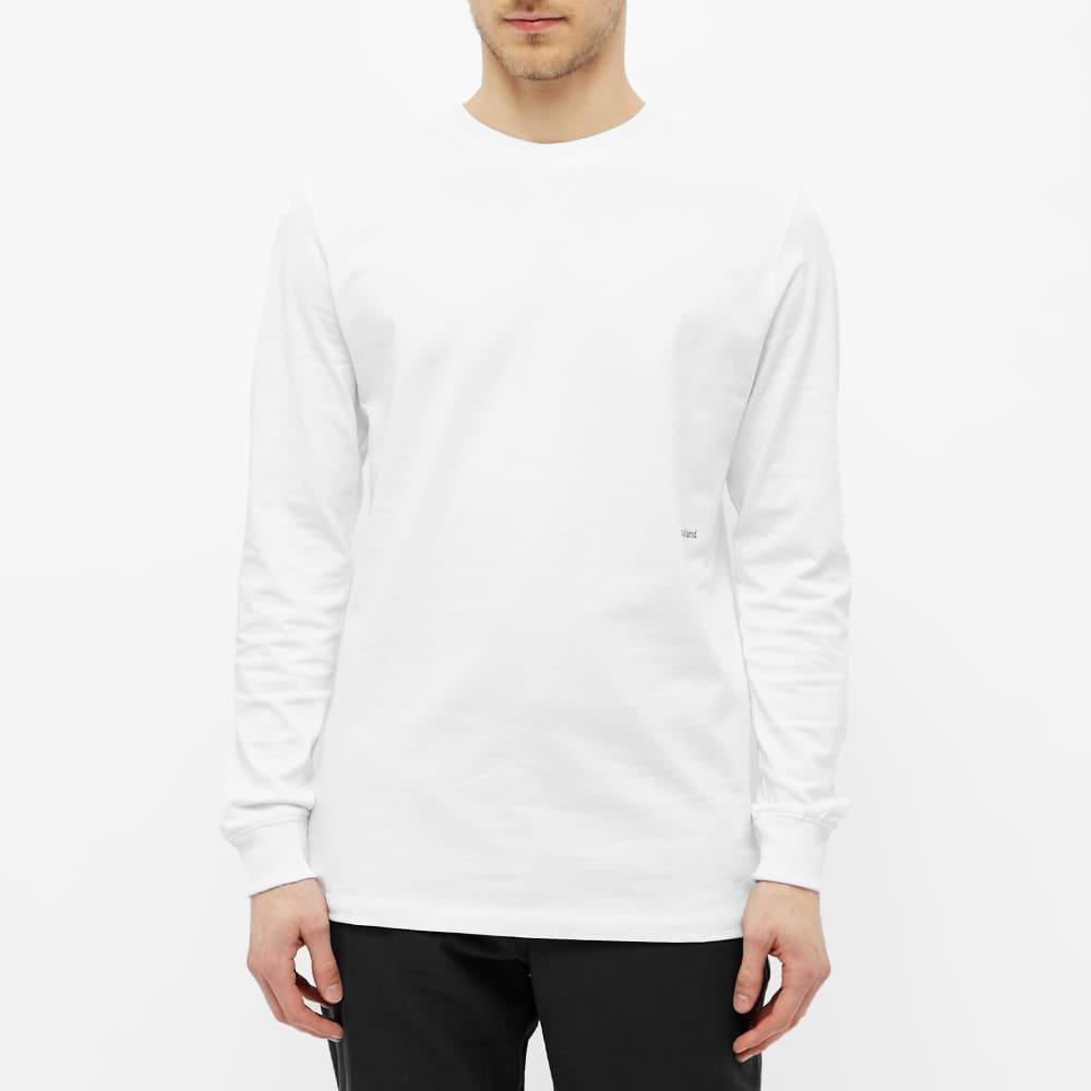 Soulland Long Sleeve Noah Tee - White