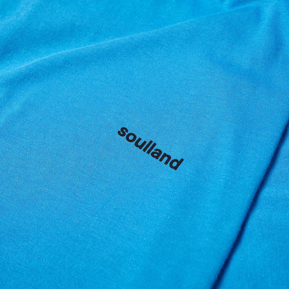 Soulland Coffey Logo Tee - Light Blue