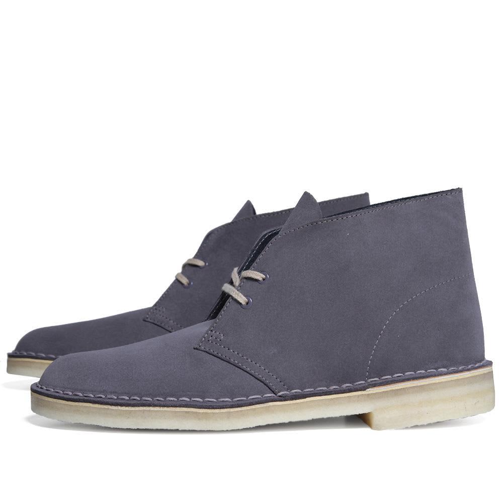 Clarks Originals Desert Boot - Anthracite Suede