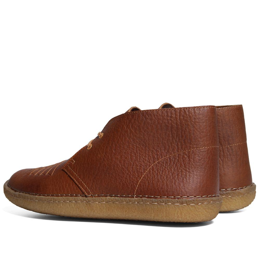 YMC x Clarks Originals Edmund Must - Cognac Leather