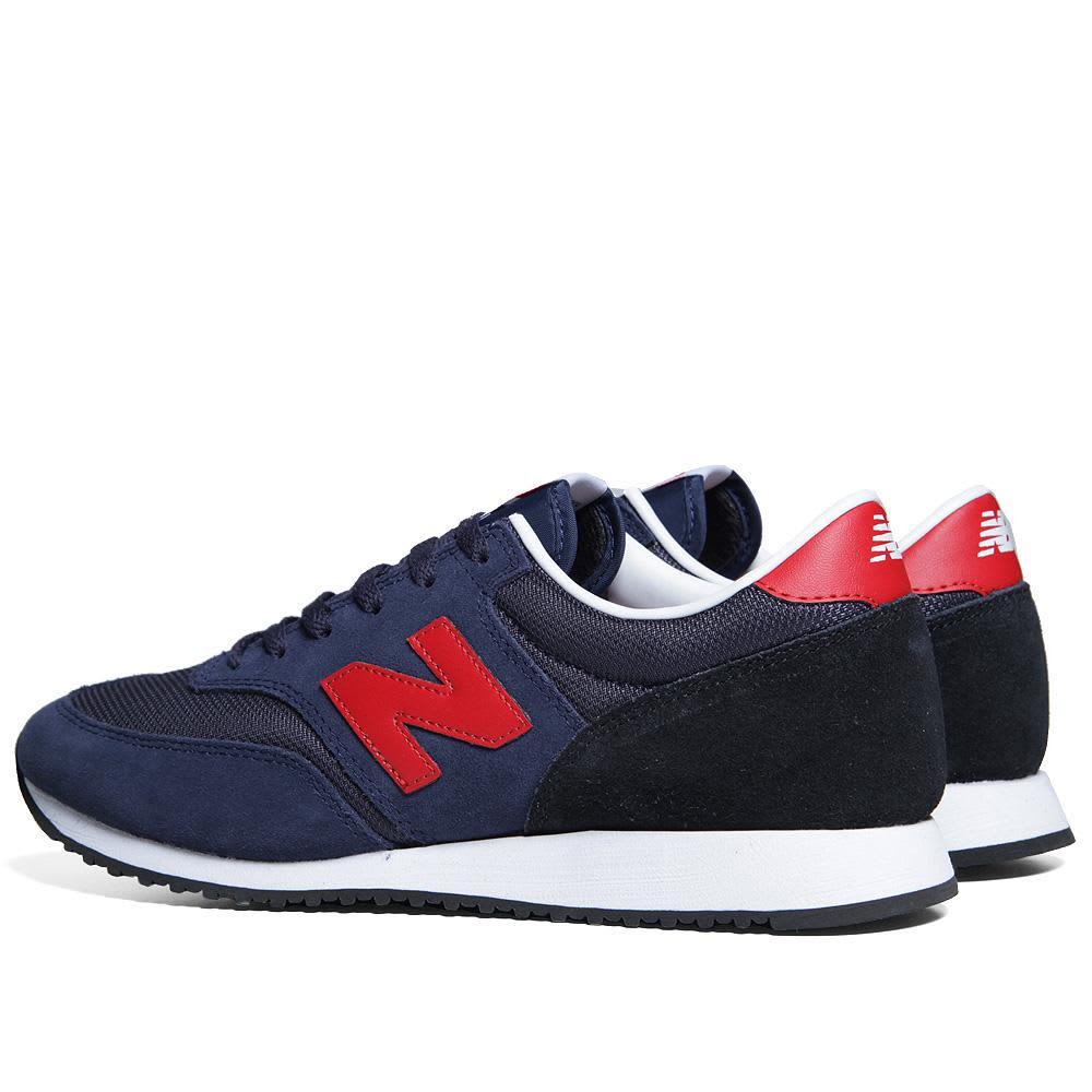 New Balance CM620SNR - Navy & Red