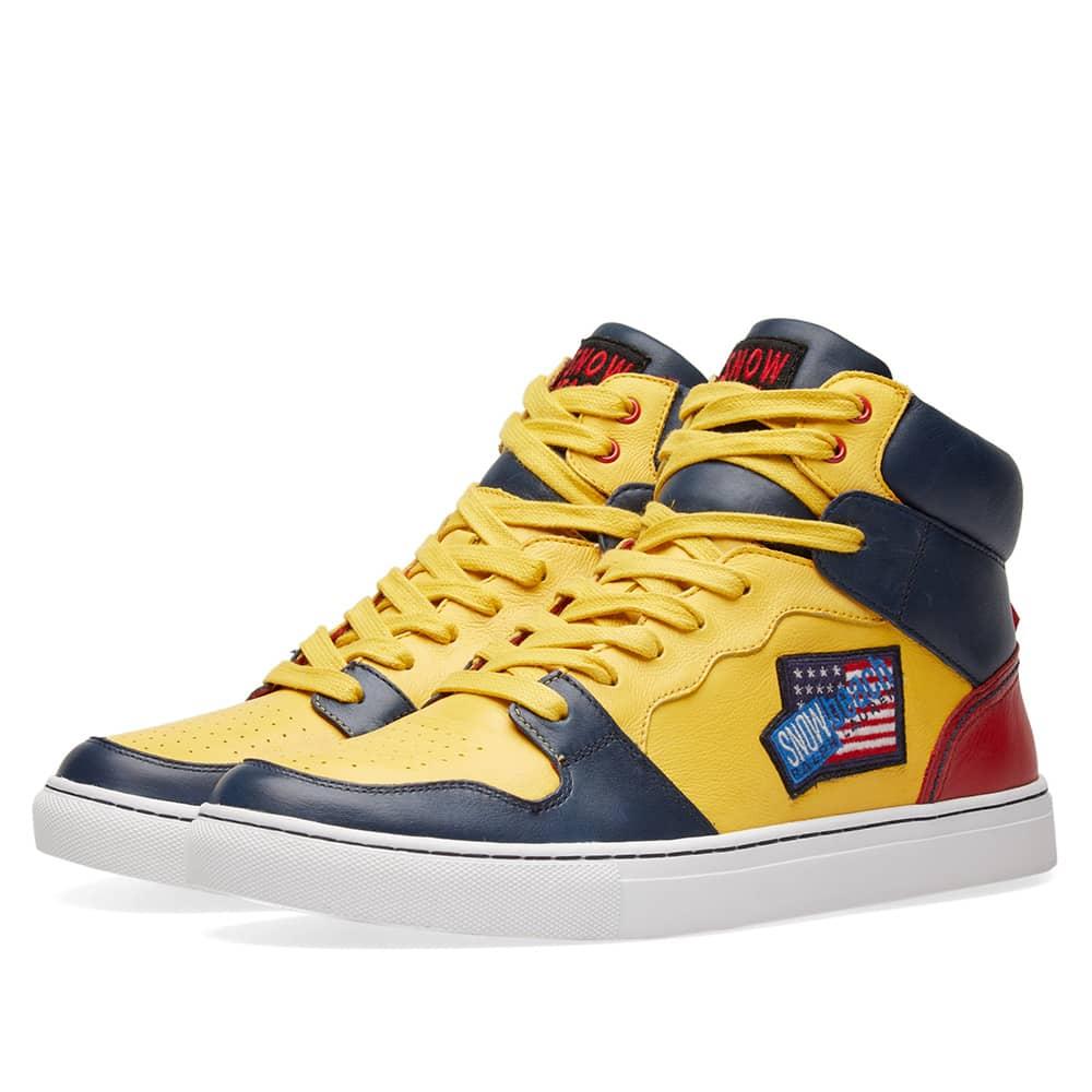 Polo Ralph Lauren Hi Top Sneaker 'Snow