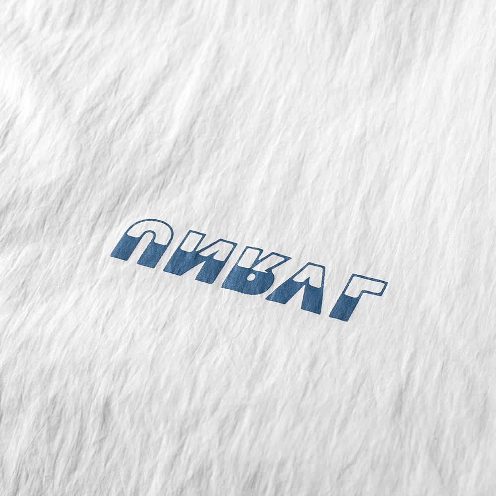 Unravel Project Retro Zipped Windbreaker - Grey & Blue
