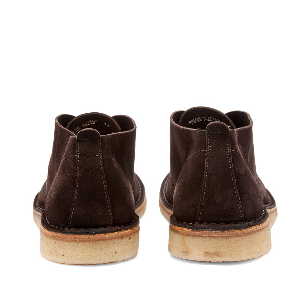 Astorflex Ettoflex Wedge Sole Suede Boot - Dark Brown