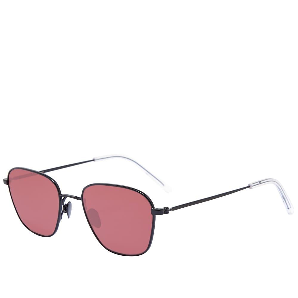 Monokel Otis Sunglasses - Black & Green