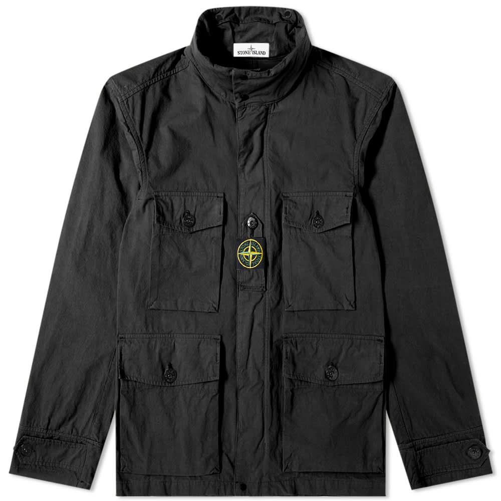 Stone Island Cordura Field Jacket - Black