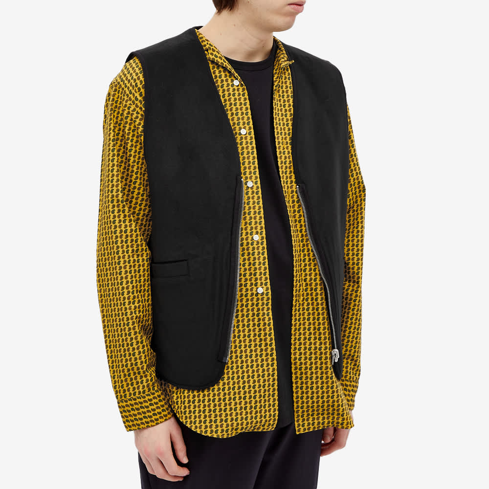 Stussy Block Reversible Vest - Mustard
