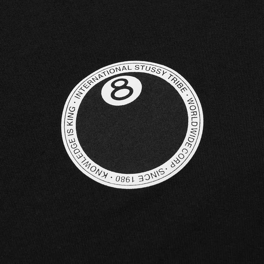 Stussy 8 Ball Dot Tee - Black