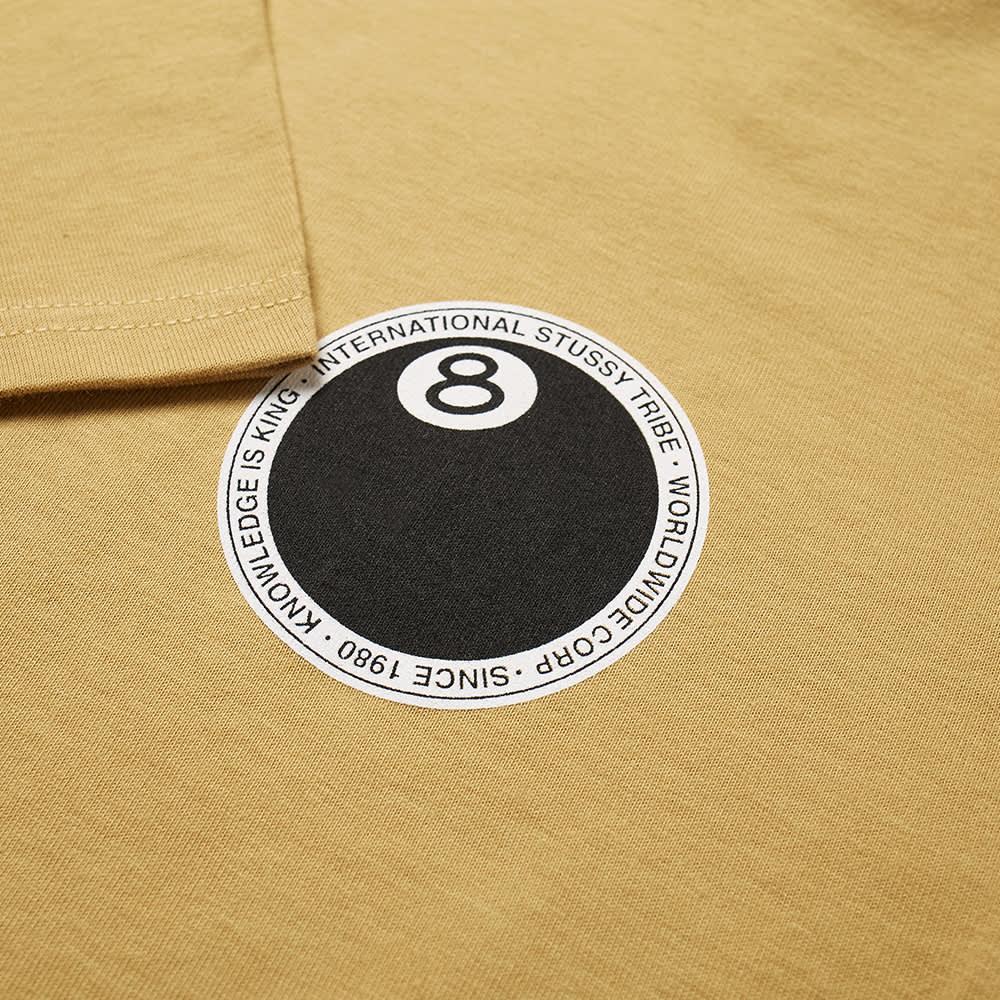 Stussy 8 Ball Dot Tee - Khaki