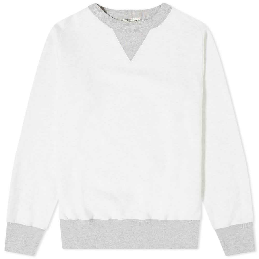 Levi's Vintage Clothing Bay Meadows Sweat - Bay Meadows White Grey