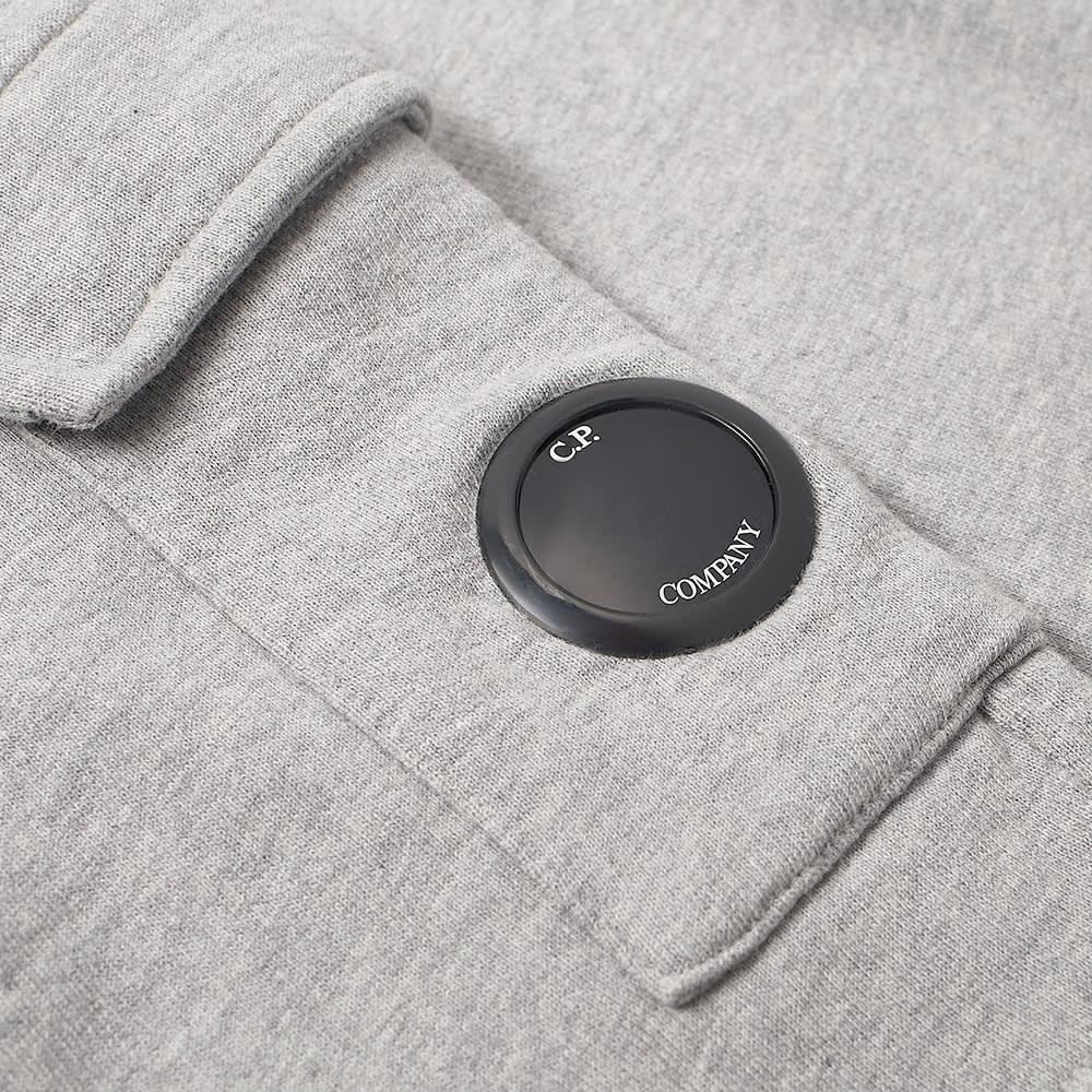 C.P. Company Undersixteen Lens Sweat Short - Grey Melange