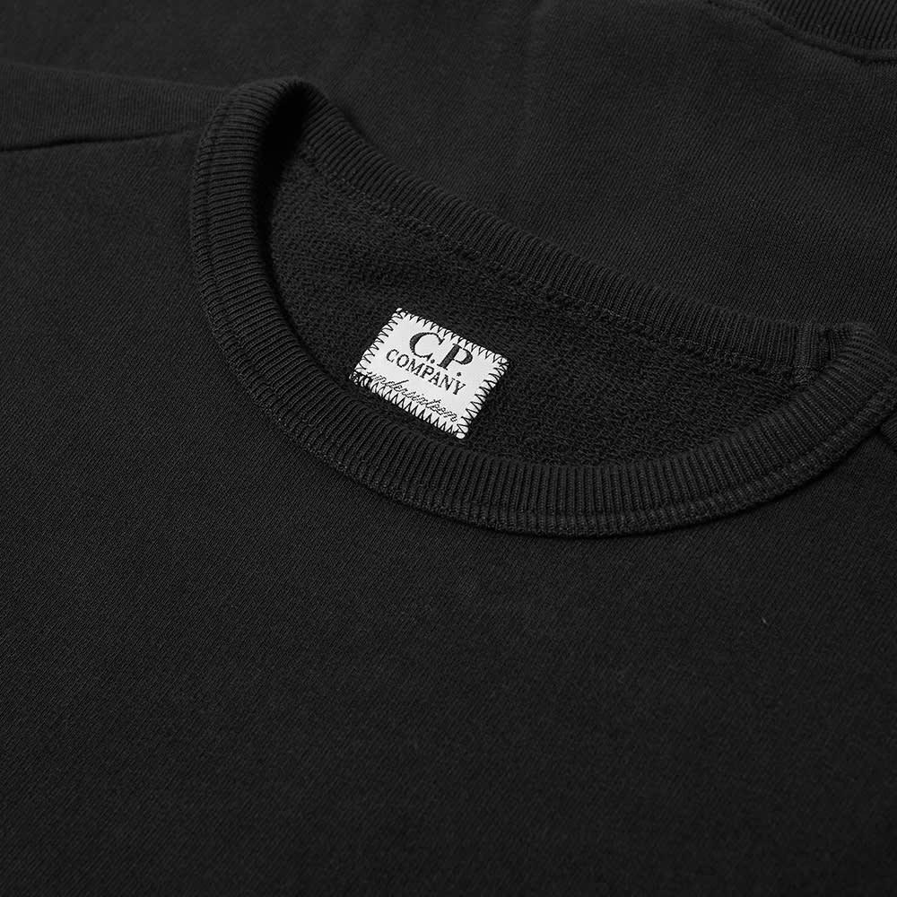 C.P. Company Undersixteen Arm Lens Crew Sweat - Black