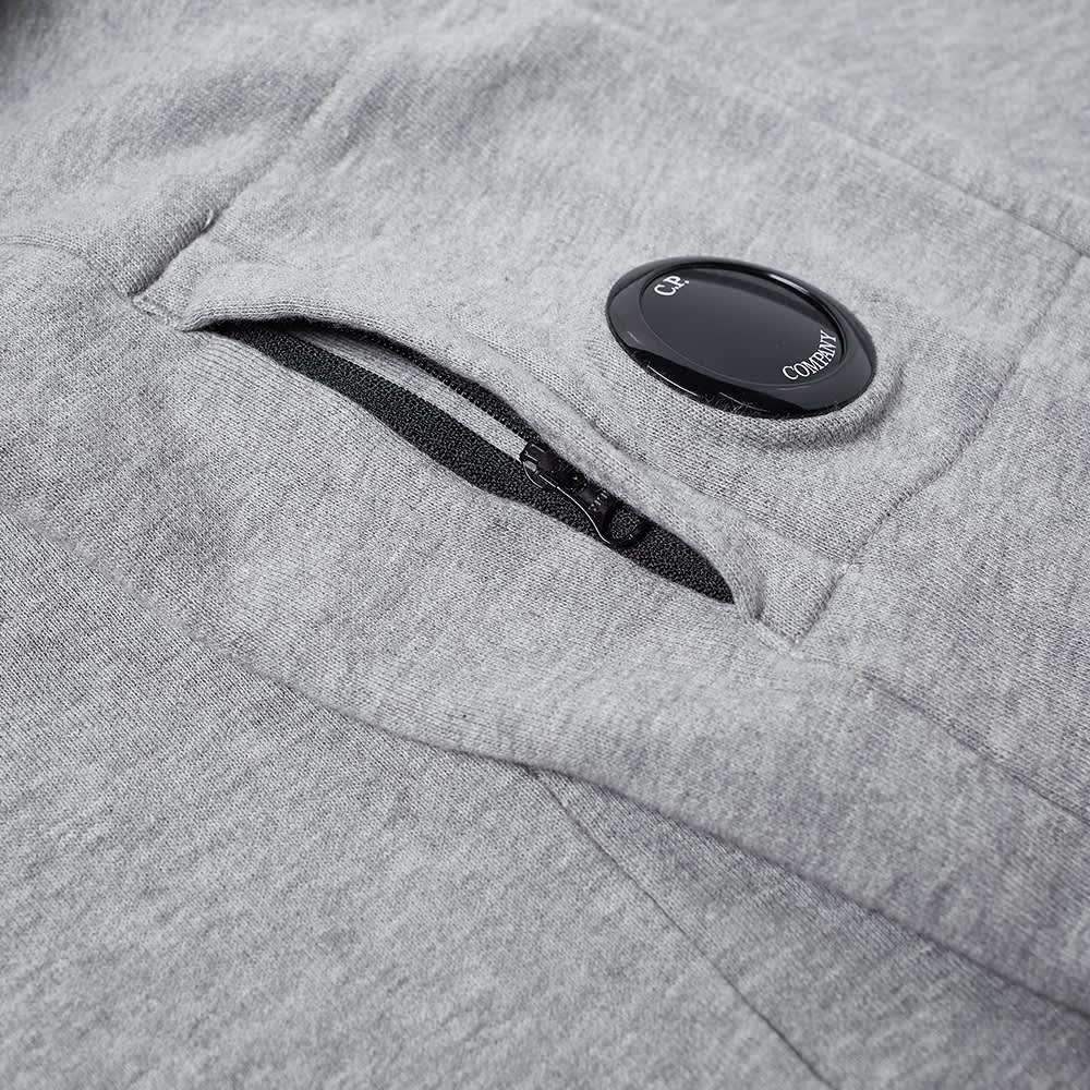 C.P. Company Undersixteen Arm Lens Crew Sweat - Grey Melange