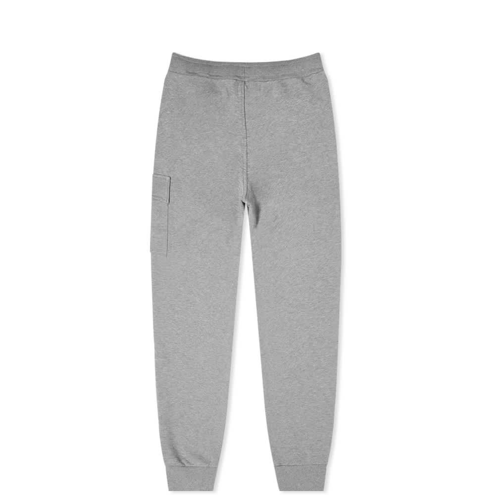 C.P. Company Undersixteen Lens Pocket Sweat Pant - Grey Melange