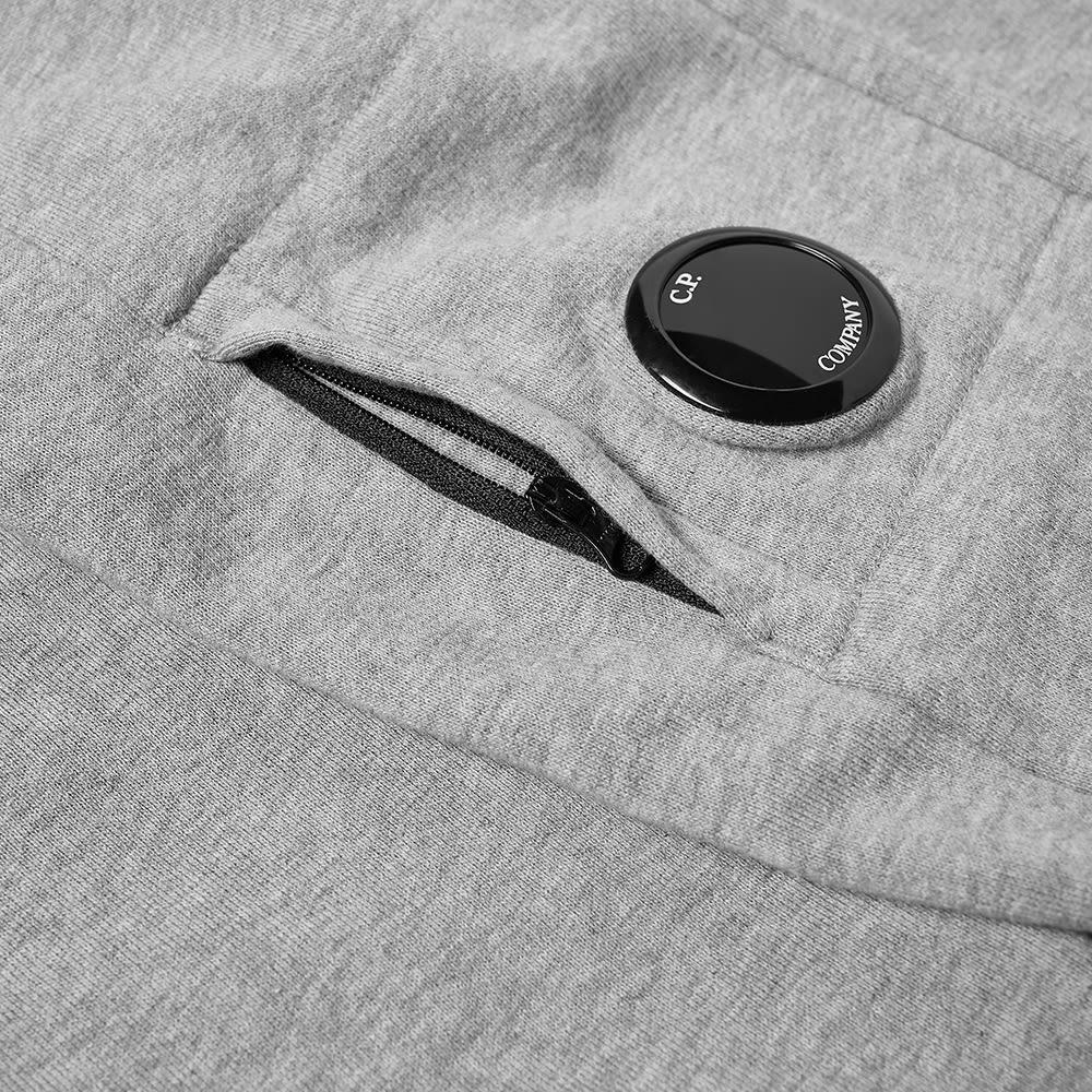 C.P. Company Undersixteen Arm Lens Popover Hoody - Grey Melange