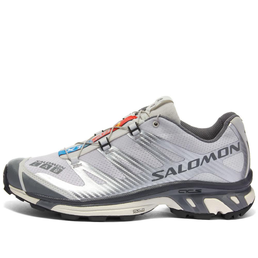 Salomon XT-4 ADVANCED - Silver Metallic, Lunar & Black
