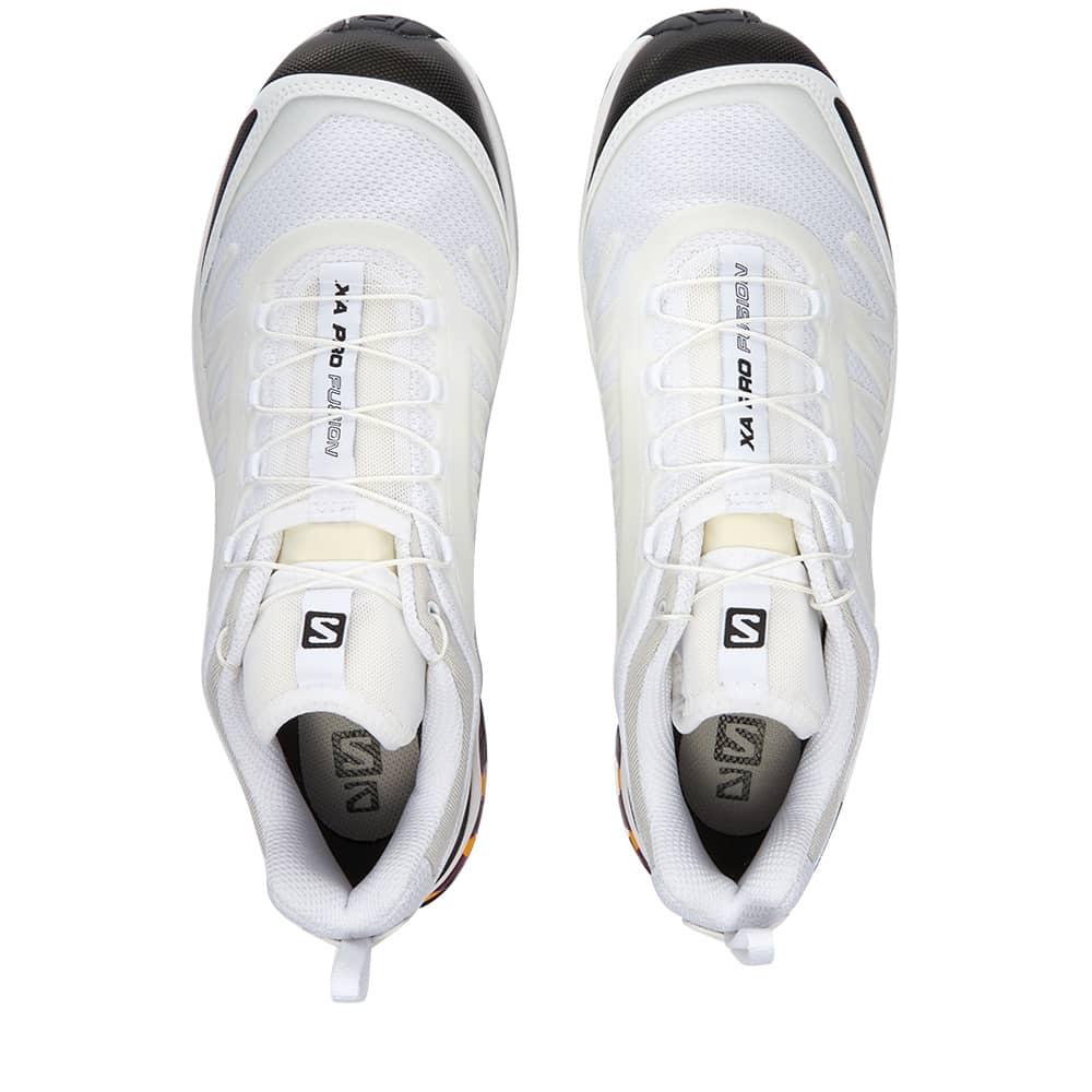Salomon XA Pro-Fusion ADVANCED - White, Black & Plum Caspia