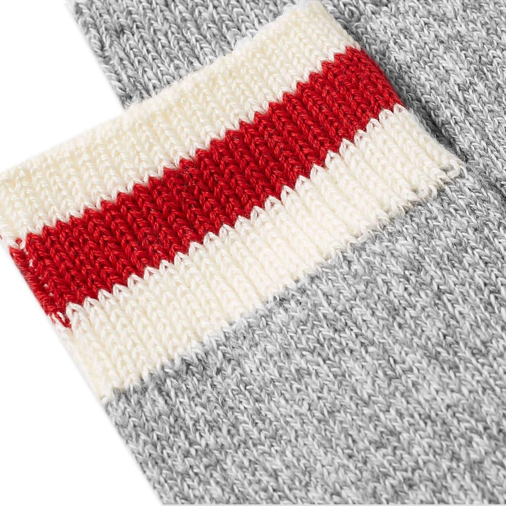 Beams Plus Ragg Sock - 2 Pack - Grey