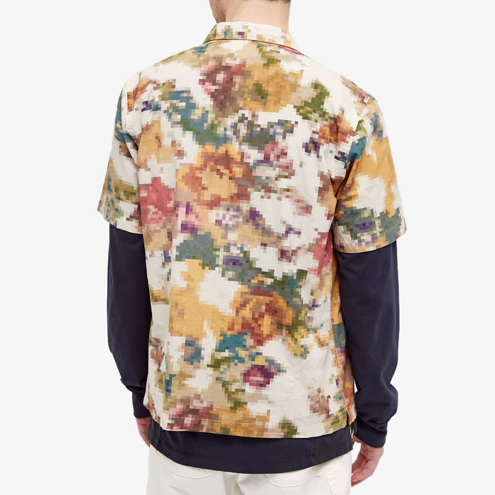 Universal Works Pixel Flower Road Shirt - Camo