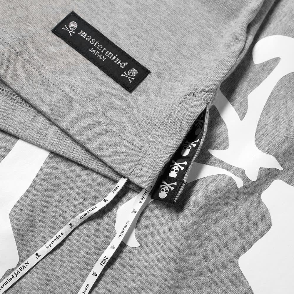 MASTERMIND JAPAN Circle Logo Tee - Top Grey