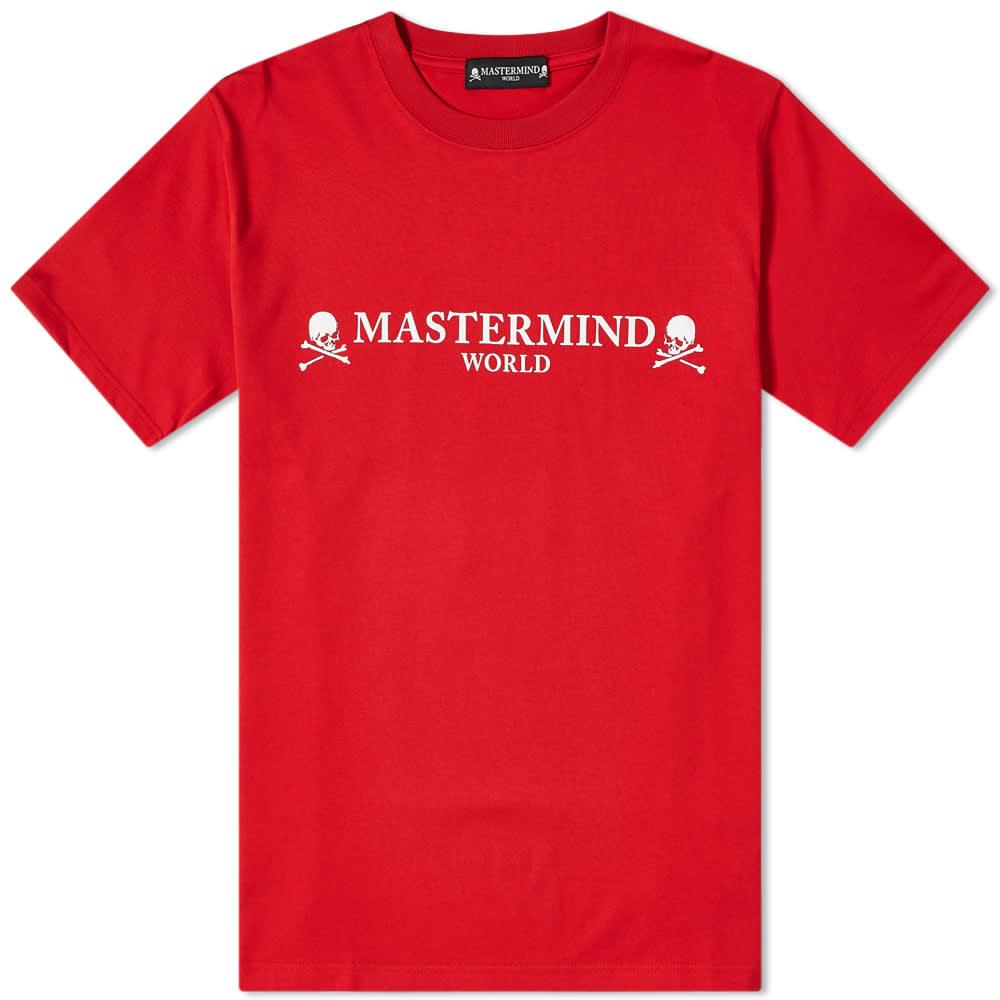 MASTERMIND WORLD Logo Tee - Red