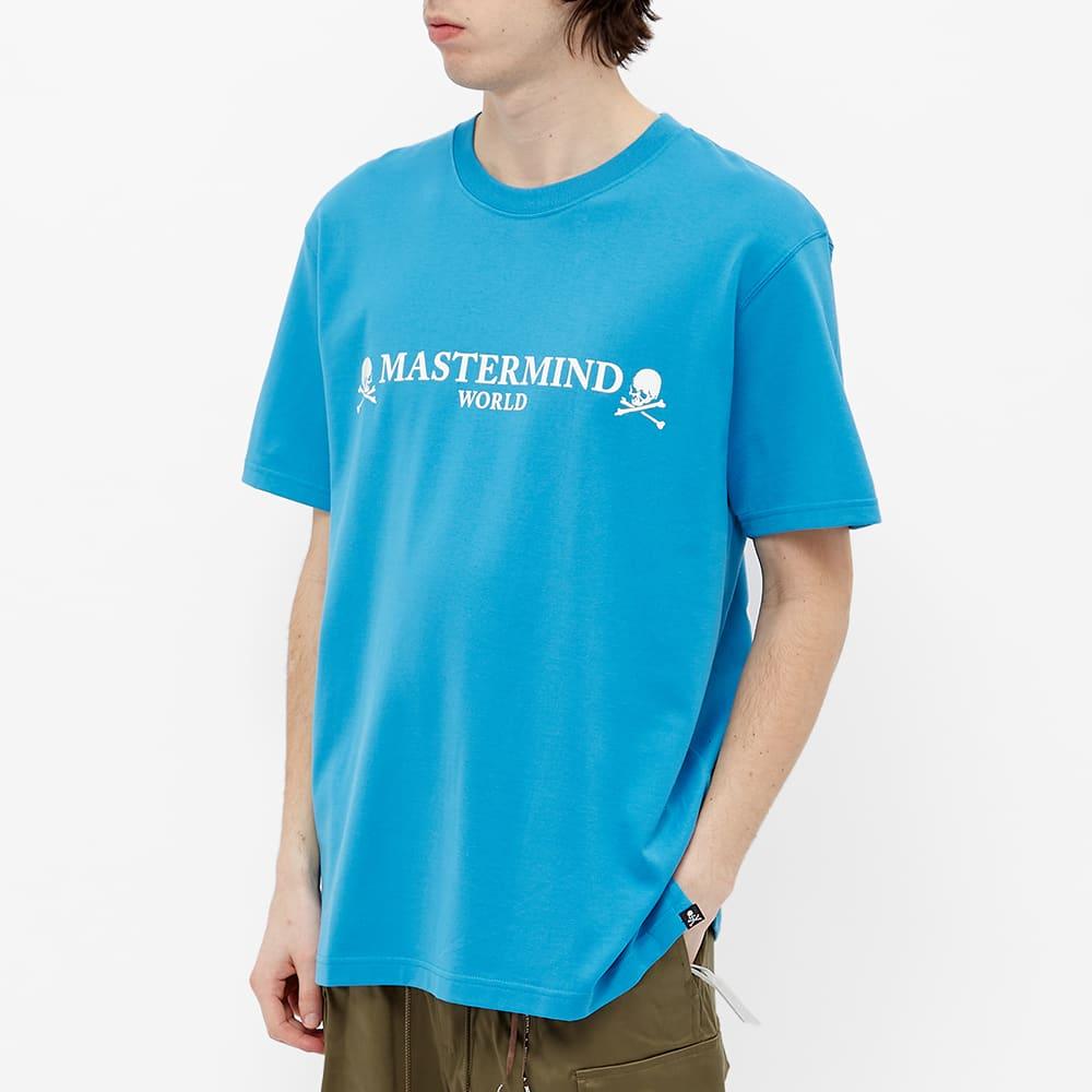 MASTERMIND WORLD Logo Tee - Sky Blue
