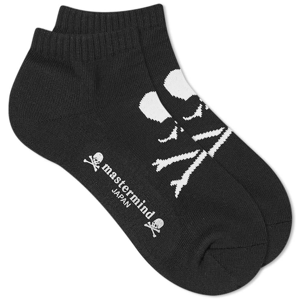 MASTERMIND Japan Skull Socks - Black & White