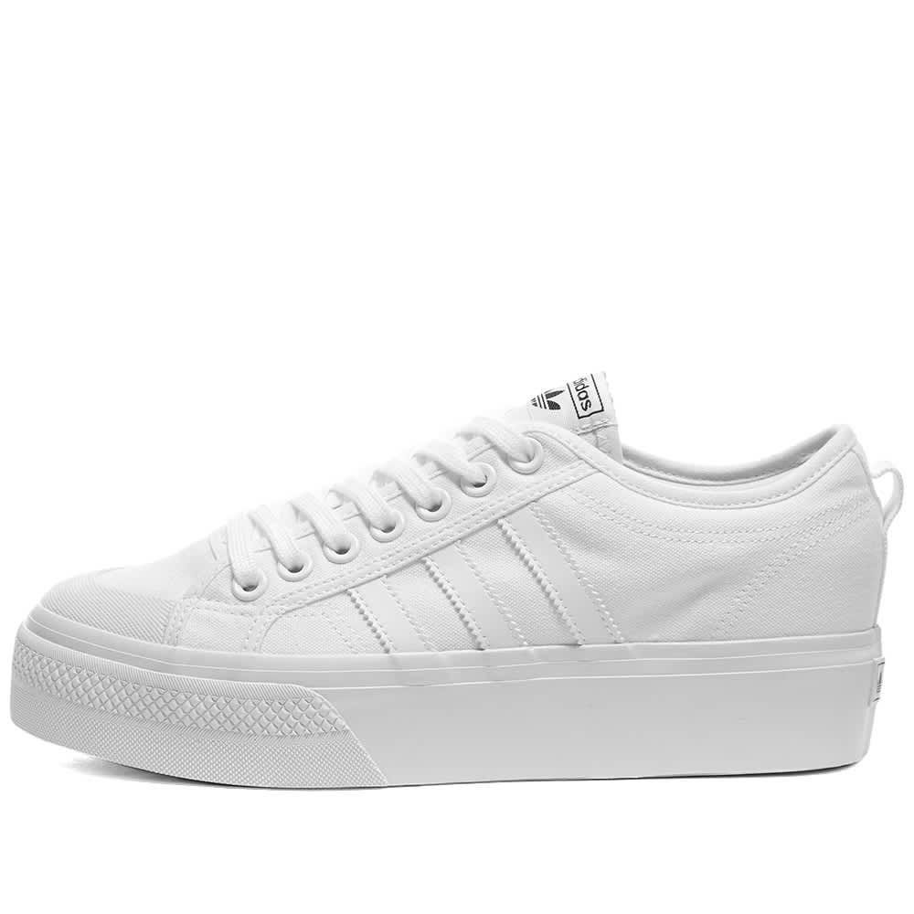 Adidas Nizza Platform W - White