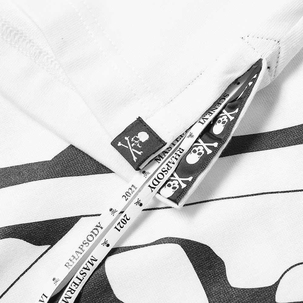 MASTERMIND WORLD Multi Logo Tee - White