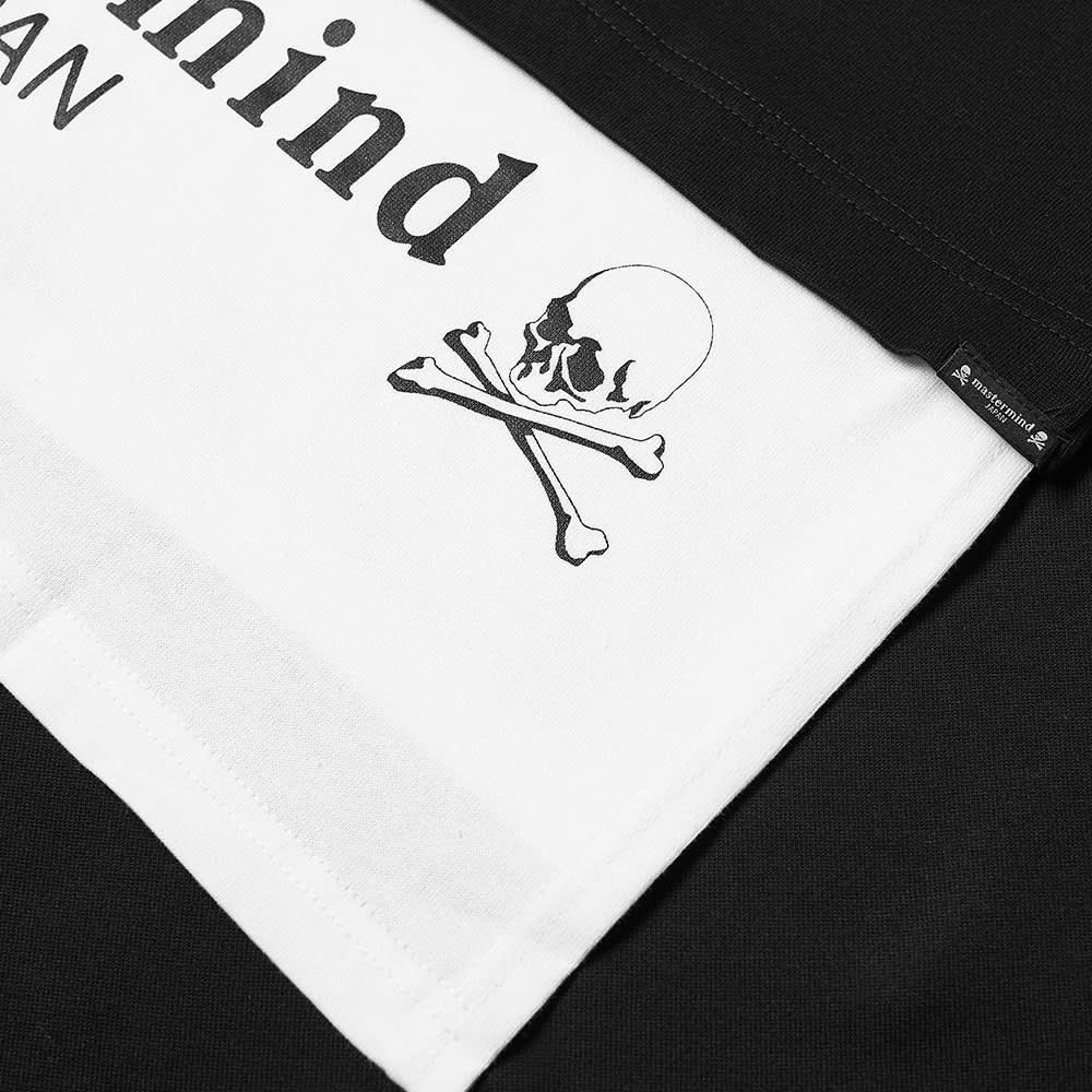 MASTERMIND JAPAN Layered Tee - Black & White