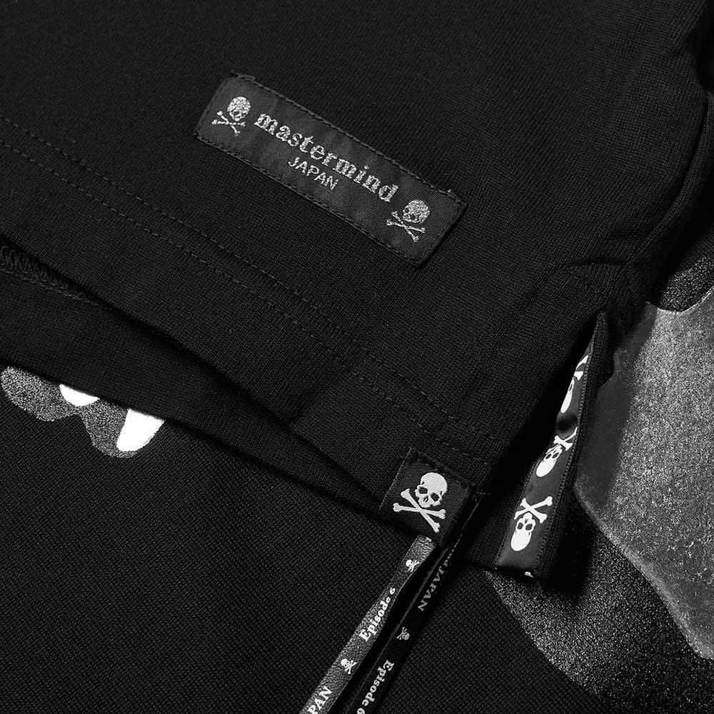MASTERMIND JAPAN Cursive Logo Tee - Black