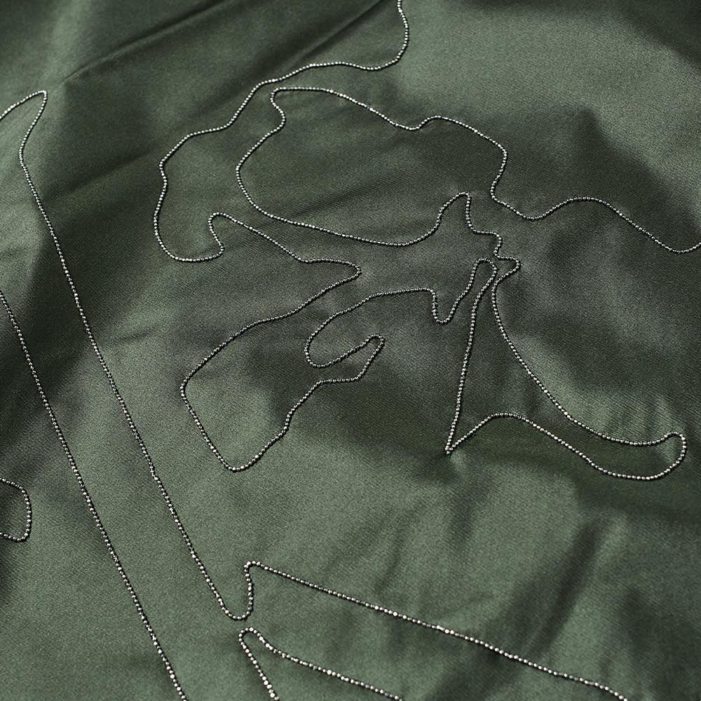 MASTERMIND JAPAN Chain Stitch Bomber Jacket - Olive