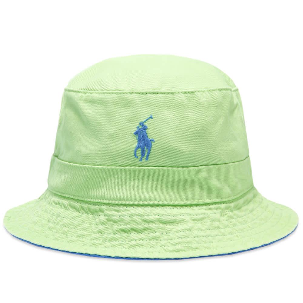 Polo Ralph Lauren Loft Bucket Hat - Cruise Lime