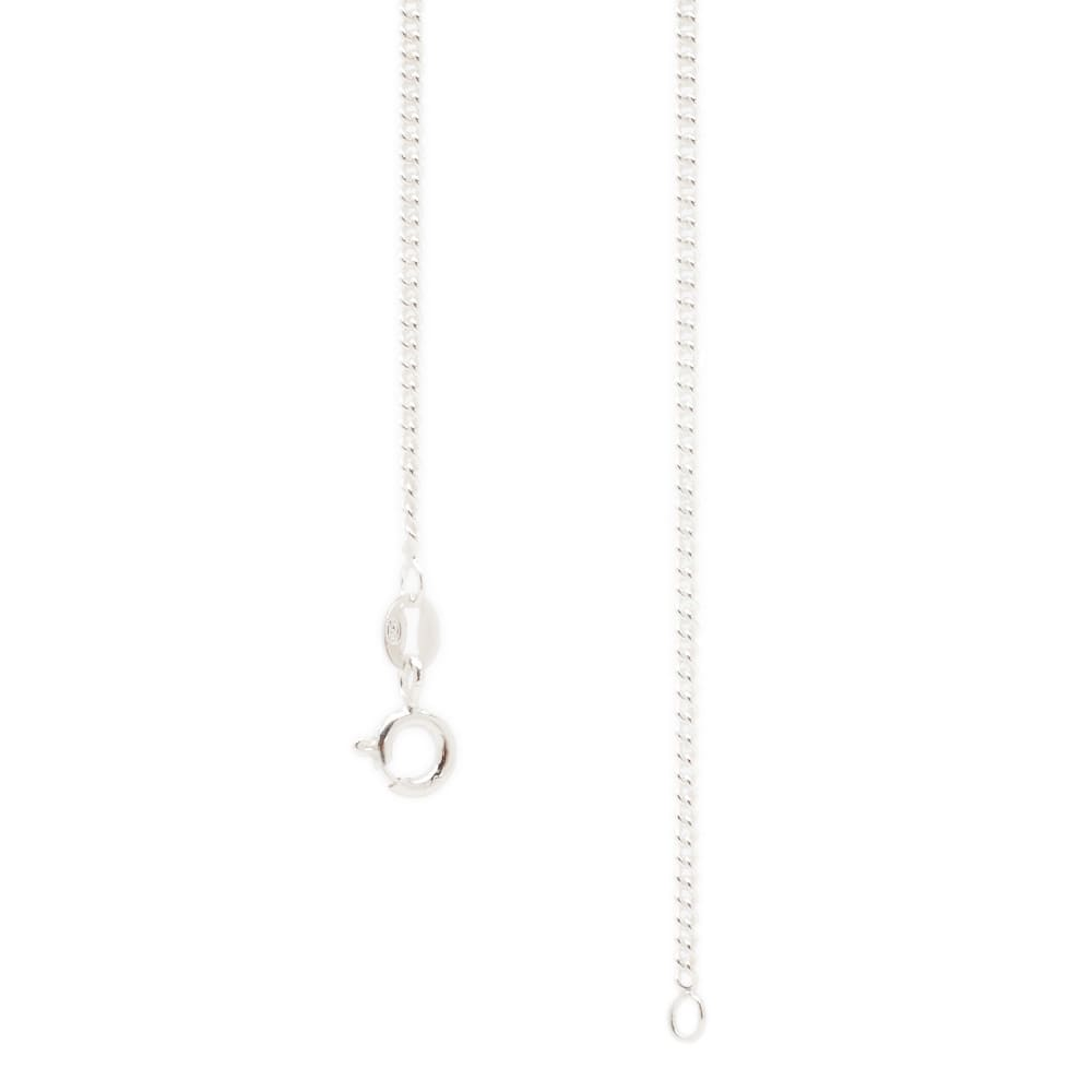 MKI Disk Necklace - Silver