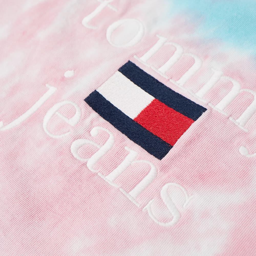 Tommy Jeans Tie Dye Tee - Blue