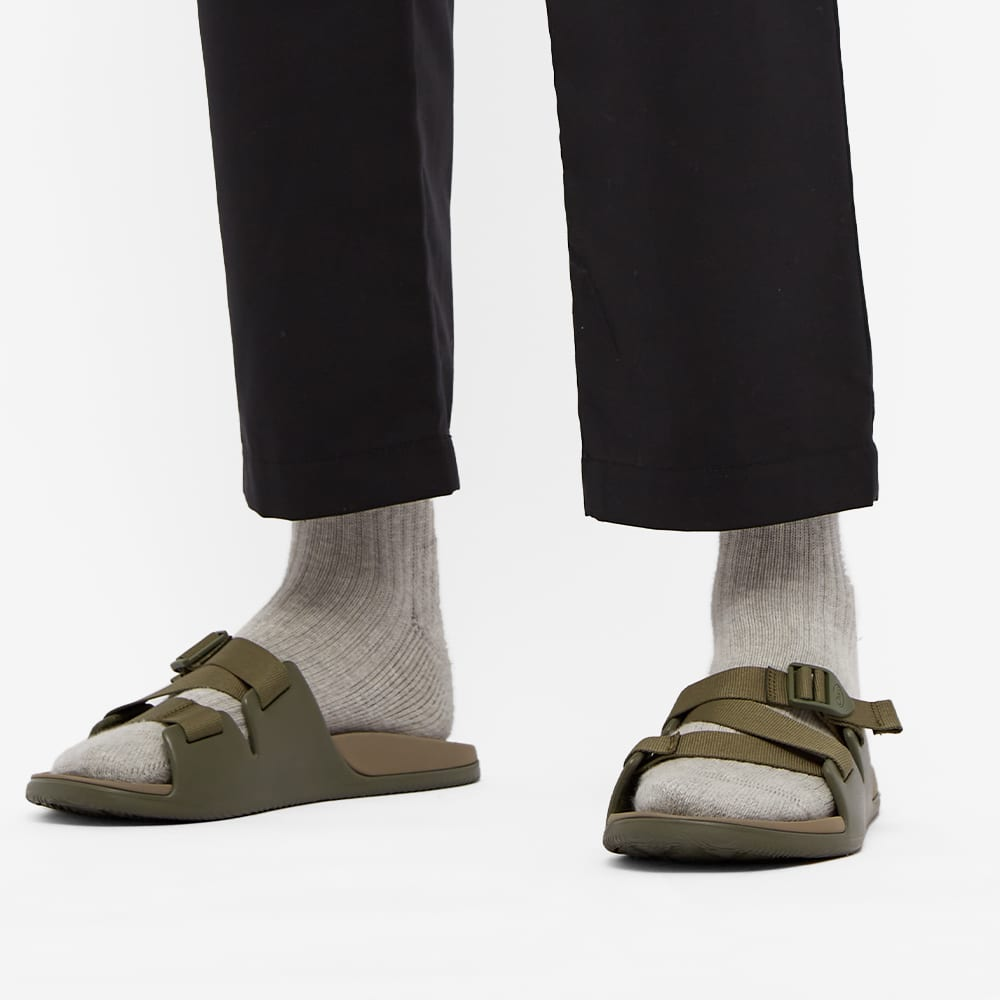Chaco Chillos Slide - Fossil