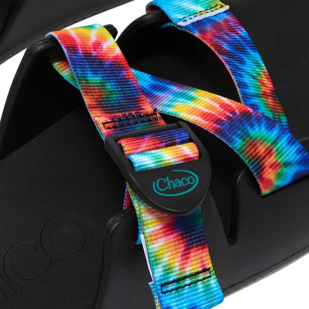 Chaco Chillos Slide - Dark Tie Dye