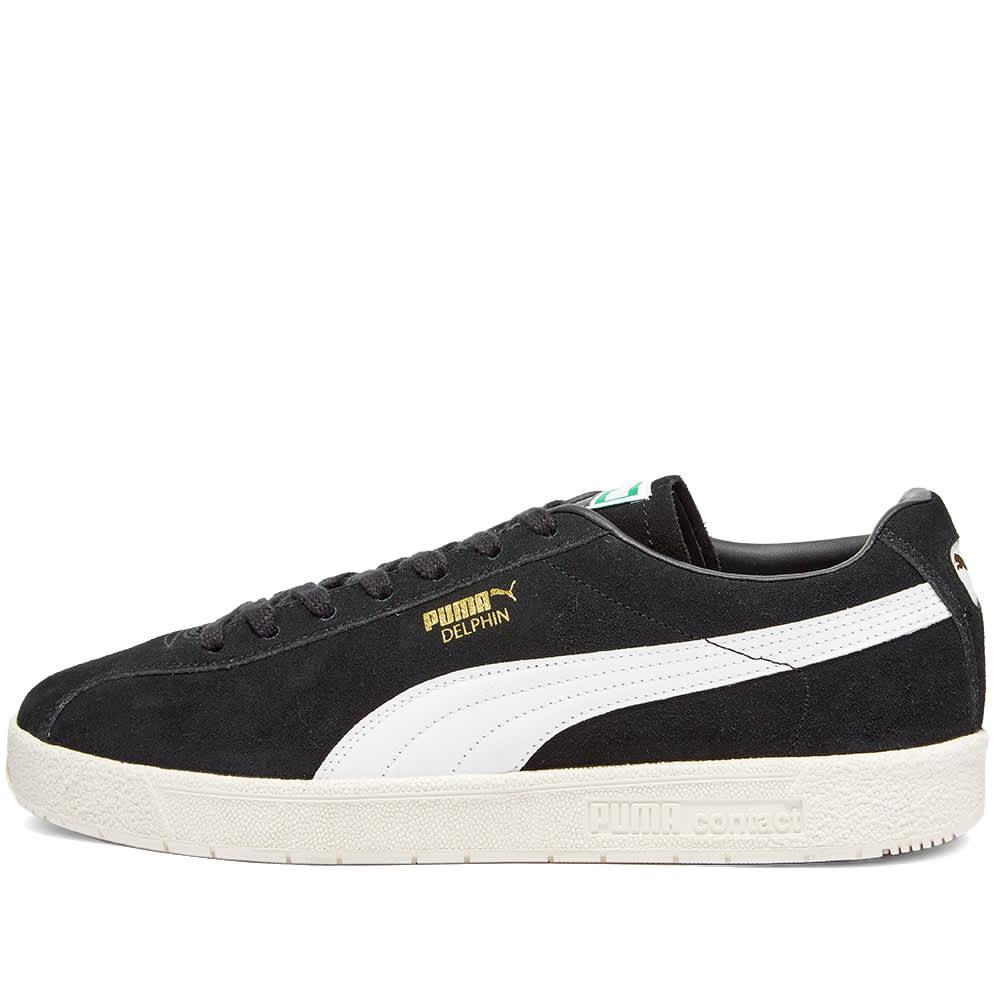 Puma Delphin Premium - Black & White