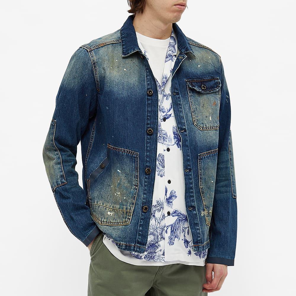 Denham E-Worker Chore Jacket - Blue