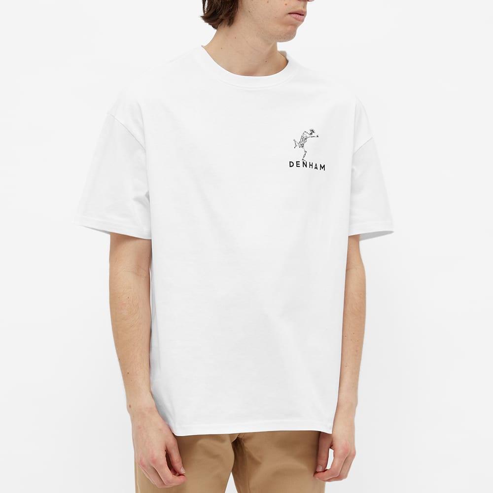 Denham Harrow Tokyodam Tee - White