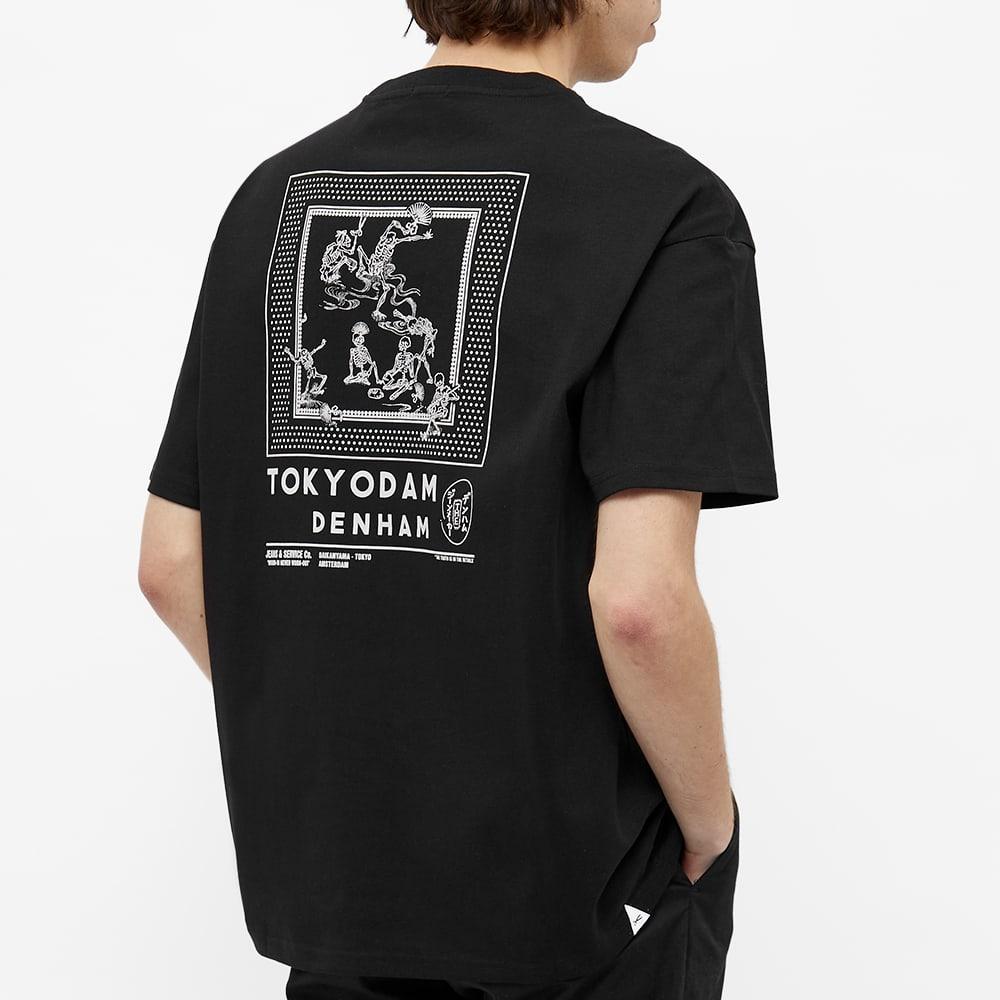 Denham Harrow Tokyodam Tee - Black
