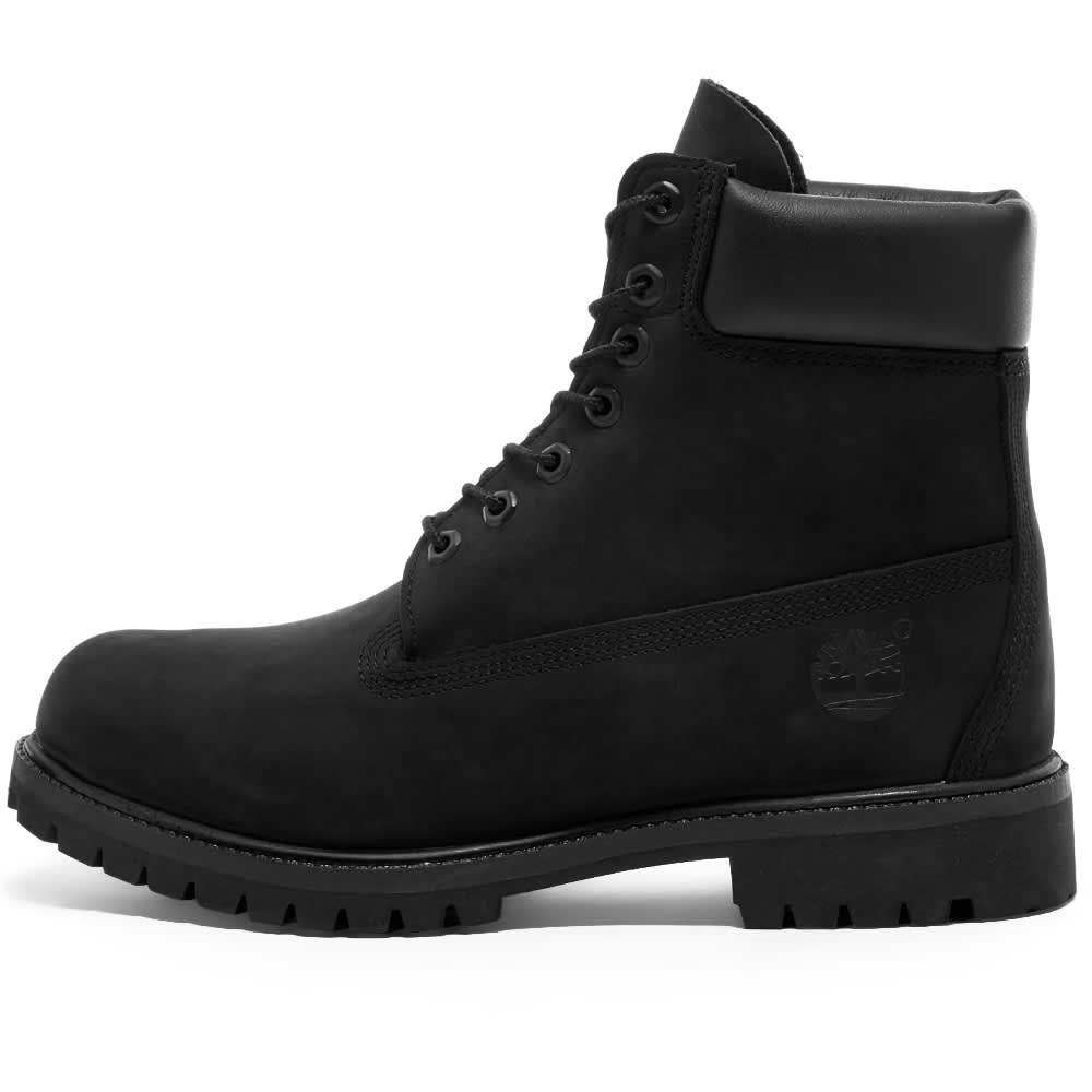 """Timberland 6"""" Premium Boot - Black Nubuck"""