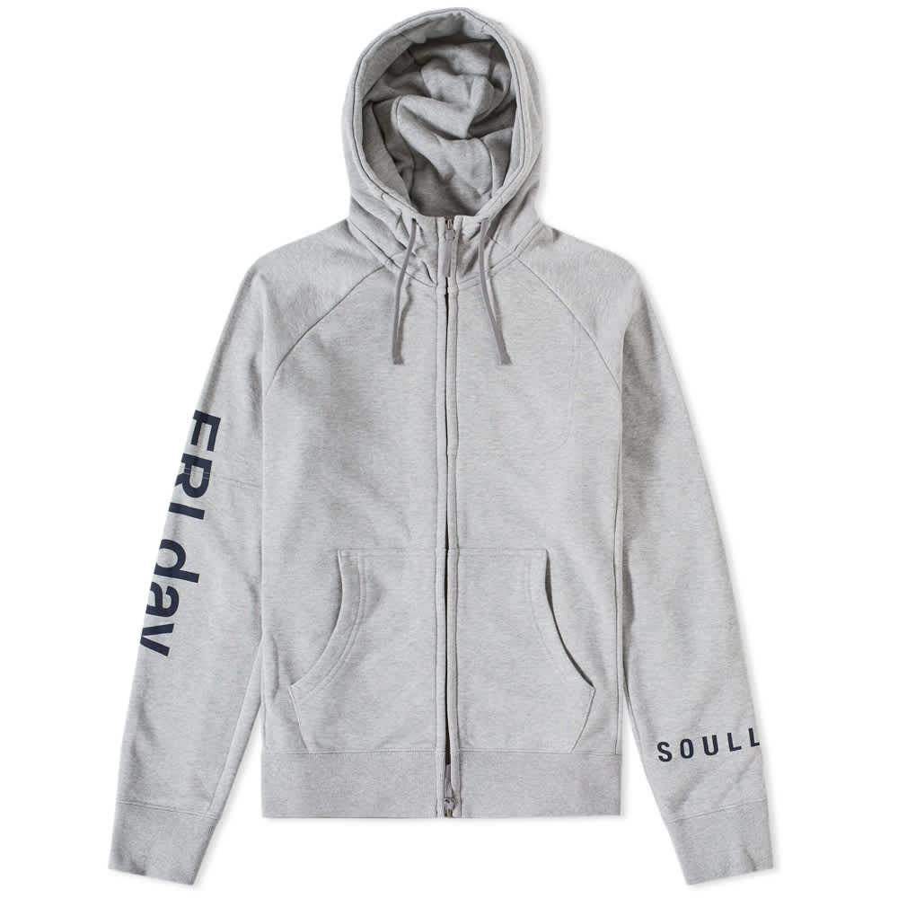 Soulland x Nike SB Everett FZ   Gray   Zip hoodies   845372