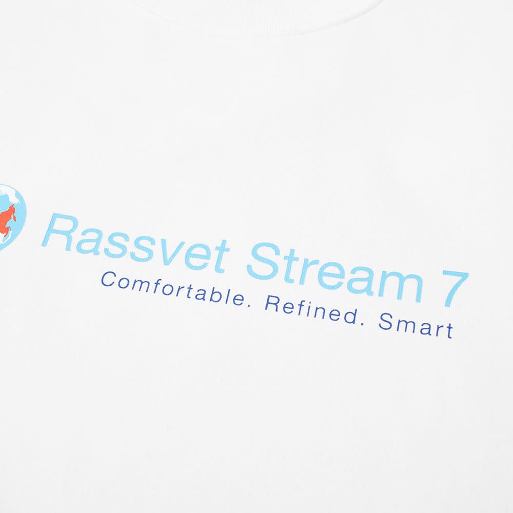 PACCBET Stream 7 Printed Sweat - White