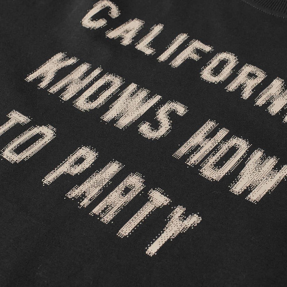 424 Cali Print Tee - Black