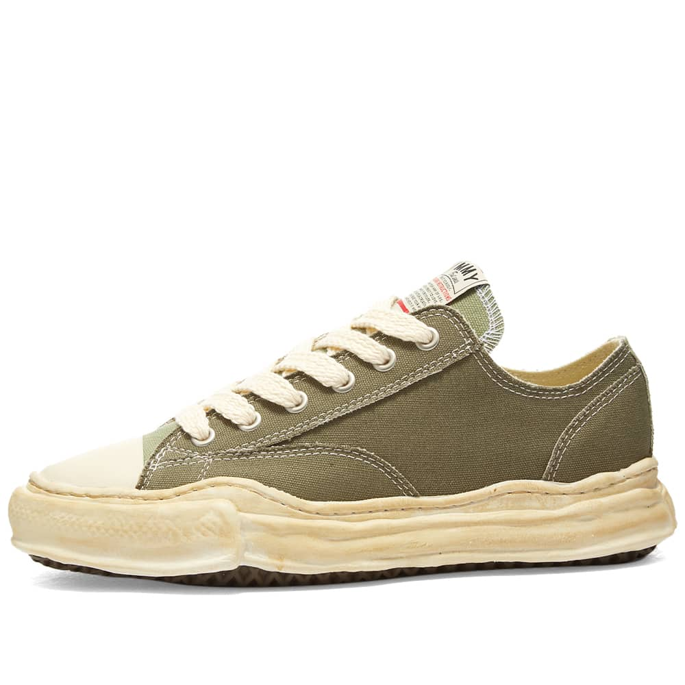 Maison MIHARA YASUHIRO Peterson Original Low Top Canvas Sneaker - Green