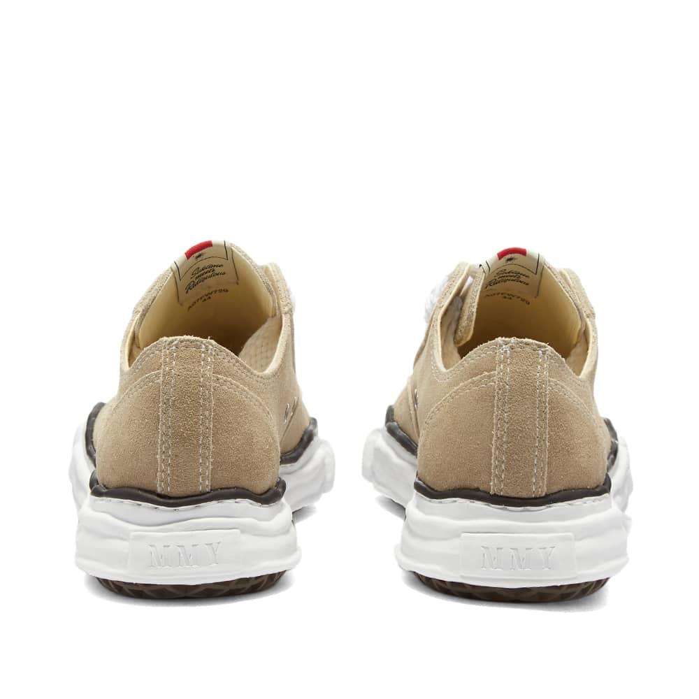Maison MIHARA YASUHIRO Peterson Original Low Top Suede Sneaker - Beige