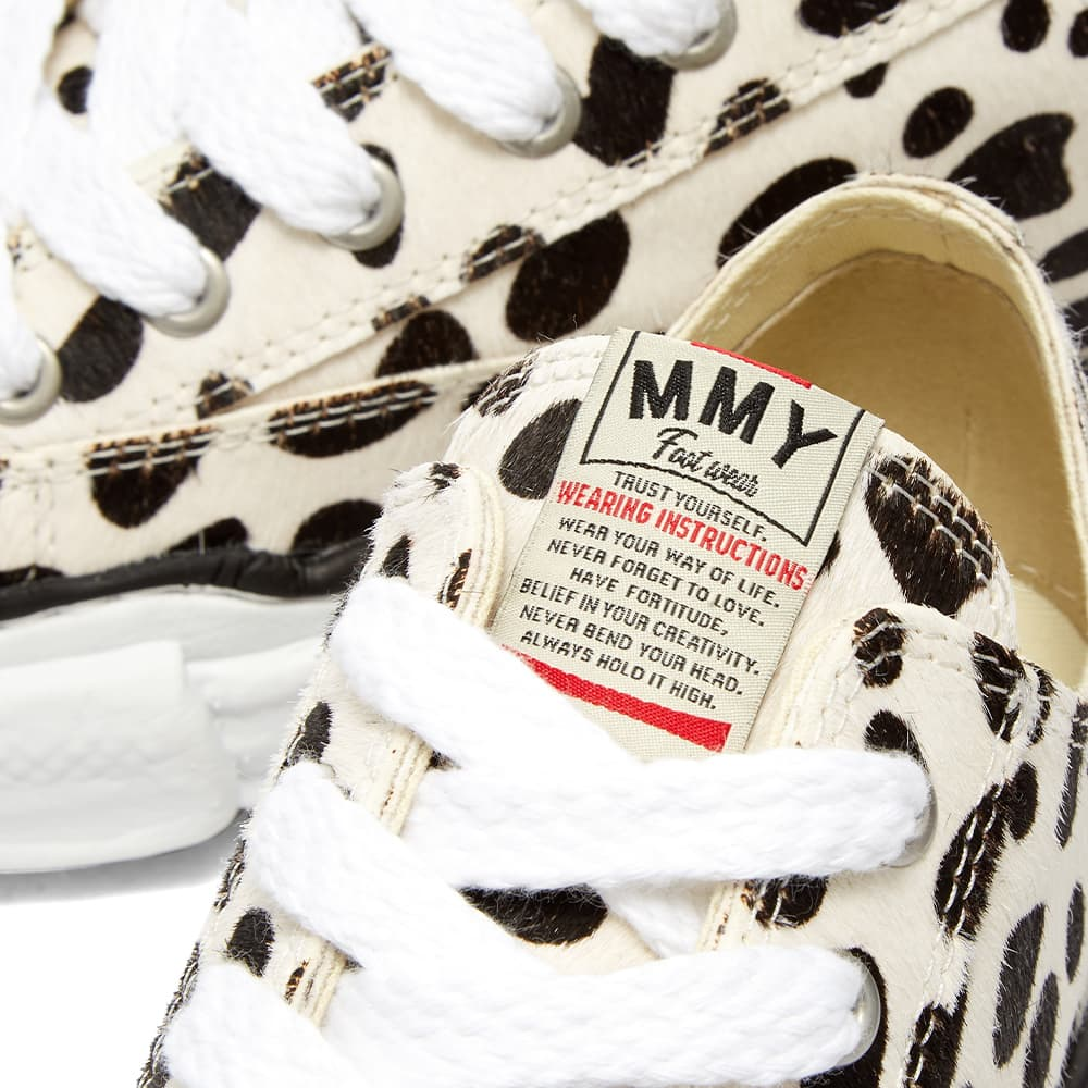 Maison MIHARA YASUHIRO Peterson Original Low Top Ponyskin Sneaker - Dalmation
