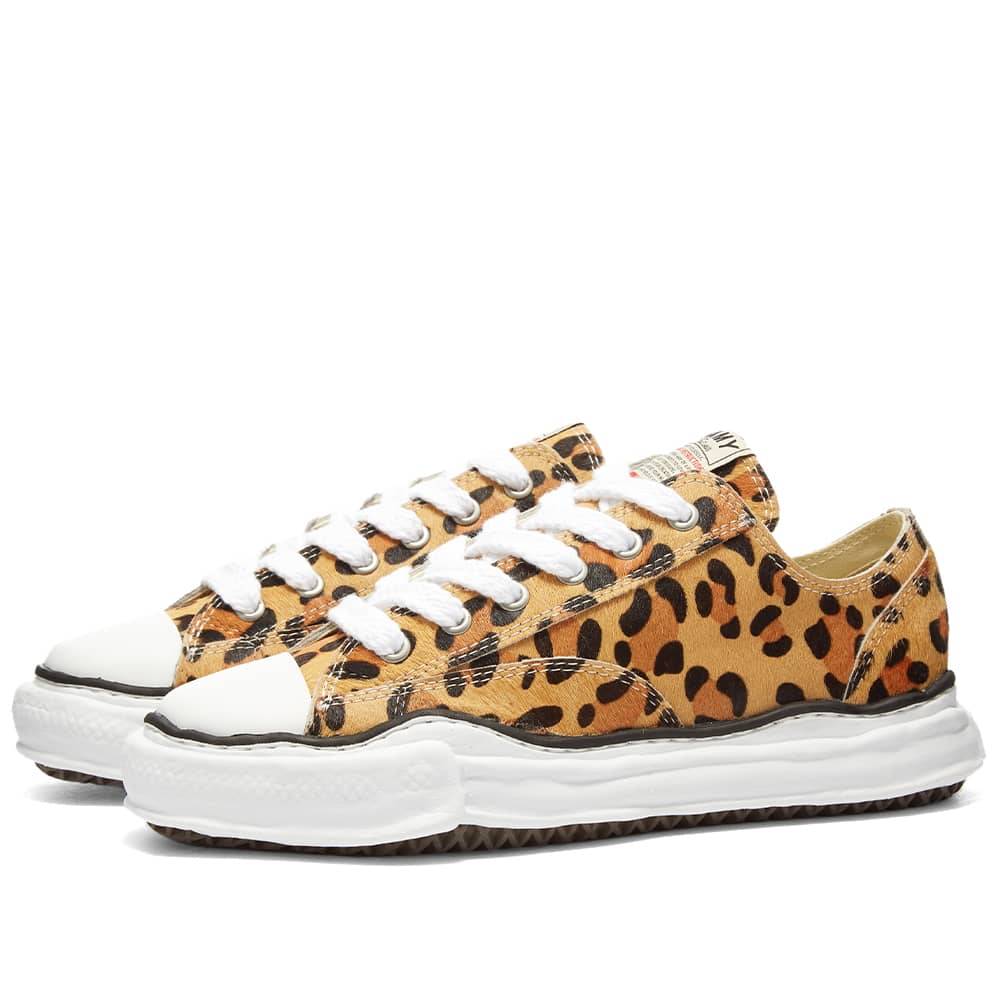 Maison MIHARA YASUHIRO Peterson Original Low Top Ponyskin Sneaker - Leopard